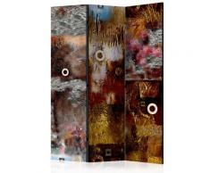 Paravento 3 Pannelli - Painted Abstraction 135x172cm Erroi