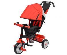 Passeggino Triciclo Per Bambini Kids Joy Sprint Rosso