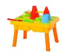 Sabbiera Gioco Sensoria Con Acqua E Sabbia Per Bambini 23 Pezzi Multicolore