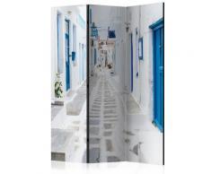 Paravento 3 Pannelli - Greek Dream Island 135x172cm Erroi