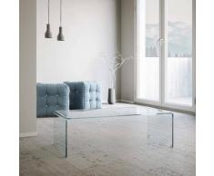 Tavolino In Vetro H35x55x110cm Itamoby Saturn Trasparente