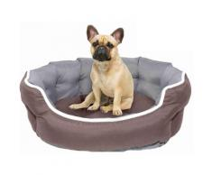 Cuccia Per Cani E Gatti 59x53x18cm Marrone/grigio