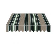 Tenda Da Sole A Caduta 3x2,5m Tessuto In Poliestere Disegno P6002