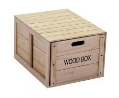 Scatola Organiser 1 Cassetto In Legno Adami Oxford