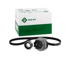 INA Pompa Acqua + Kit Cinghia Distribuzione LANCIA,FIAT 530 0206 30 46526243,46526291,46736500 Pompa Acqua + Kit Cinghie Dentate,Pompa 46805736