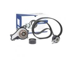 DOLZ Pompa Acqua + Kit Cinghia Distribuzione FORD,TOYOTA,PEUGEOT KD015 Pompa Acqua + Kit Cinghie Dentate,Pompa