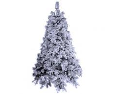 Albero Di Natale Artificiale Innevato 240 Cm 2850 Rami 750 Led Bianco Freddo Elbert