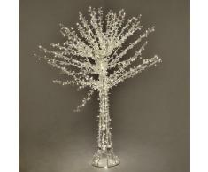 Albero Di Natale Luminoso Con 1016 Led Bianco Caldo H150cm Adami Cristallo