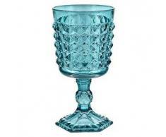 Livellara - 6 Bicchieri Vino Tiffany TURCHESE