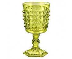 Livellara - 6 Bicchieri Vino Tiffany VERDE