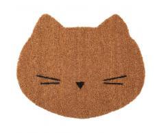 Zerbino gatto in fibra di cocco, 38x45 cm