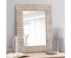 Specchio in legno H 66 cm SONGO