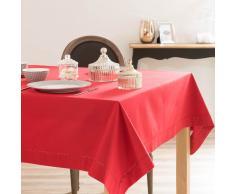 Tovaglia rossa in cotone 170 x 310 cm
