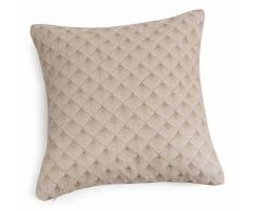 Fodera di cuscino in cotone ricamato 40x40 cm ONE