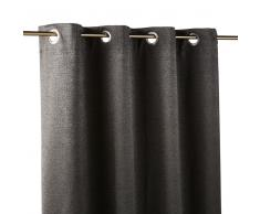 Tenda con occhielli grigio antracite, 140x300 cm
