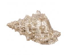 Statuetta conchiglia, l. 15 cm