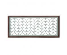 Decorazione da parete in metallo 35 x 83 cm LEAVES