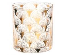 Bicchiere in vetro dorato LUNAIRE