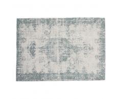 Tappeto blu 140 x 200 cm VILLANDRY