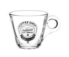 Tazza da caffè in vetro COFFEE SHOP