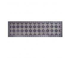 Tappeto in vinile con motivi a mattonelle 60x199 cm