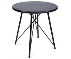 Tavolino in metallo nero L 45 cm SCOTT