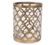 Lanterna in vetro H 17 cm CANETTI