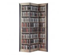 Paravento stampato in legno L 120 cm SHAKESPEARE