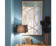 Specchio in metallo H 100 cm OLNEY