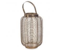 Lanterna in metallo dorato H 29 cm TOPANGA