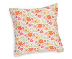 Federa di cuscino con motivi a fiori in cotone 40 x 40 cm HELENA