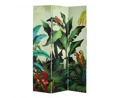Paravento stampato tropicale L 121 cm SANTANA