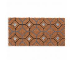 Zerbino con motivi a mattonelle 30x60 cm