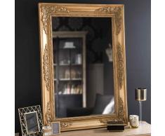 Specchio dorato in legno H 100 cm EASTPORT