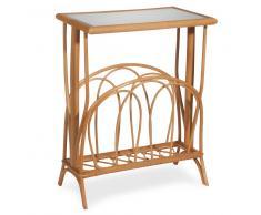 Tavolino da salotto in rattan L 40 cm PULONG