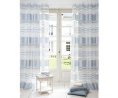 Tenda in tessuto blu 140 x 250 cm CHATEL