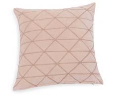 Fodera di cuscino rosa/paillette 40X40 cm BETTY
