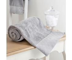 Asciugamano grigio in cotone 30 x 50 cm HÔTEL