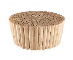 Tavolino da salotto in legno di eucalipto ROBINSON