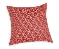 Fodera di cuscino color terracotta in cotone 40 x 40 cm SAYULITA
