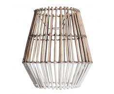 Lampada a sospensione non elettrificata in rattan bicolore D.32 cm OUESSANT