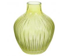 Vaso verde anice in vetro URBAN