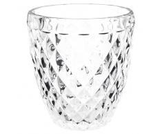 Bicchiere in vetro SAPHIR