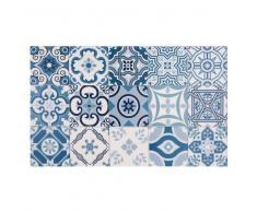 Tappeto in vinile con motivi a mattonelle 50x80 cm