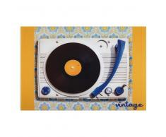 Quadro in Plexiglas® 80 x 120 VINTAGE RECORD PLAYER