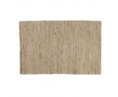 Tappeto in cotone e iuta 140 x 200 cm BARCELONE