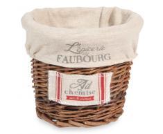 Cestino per erbe aromatiche in vimini FAUBOURG