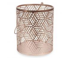 Lanterna in metallo H 19 cm ORIGAMIX