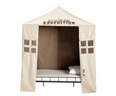 Tenda beige in cotone per bambini 200 x 200 cm SAVANE