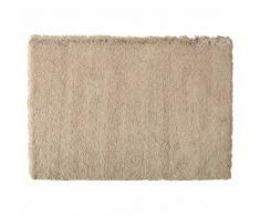 Tappeto beige a pelo lungo 140x200 cm INUIT